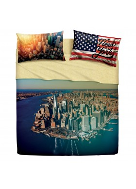 NY ISLAND - Completo Letto con Stampa Digitale Imagine di Bassetti